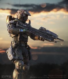 Fallout Concept Art, Alien Concept Art, Star Citizen, Halo Master Chief Helmet, Odst Halo, Halo Cosplay, Halo Armor, Starfleet Ships, Combat Armor