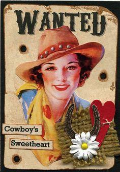 Cowboy's Sweetheart ATC