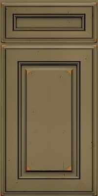kraftmaid cabinets square raised panel solid aac cherry in vintage sage w
