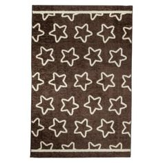 Mohawk Star Rug in Chocolate/Creme.Opens in a new window
