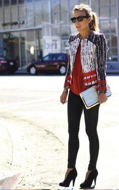 street chic | bold