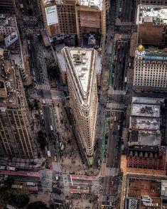 Flatiron Building, New York Life, New York Art, New York Architecture, New York Photographers, Discount Travel, Flat Iron, Aerial View, Empire State Building