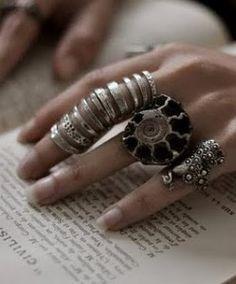 big, beautiful rings