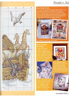 Noah's Ark 2 counted cross stitch