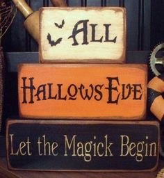 All Hallows Eve...