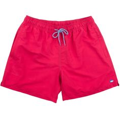 73e052eefd Classic Swim Trunks in Channel Marker Red by Southern Tide - FINAL. Southern  OutfitsMen's SwimsuitsSouthern ...