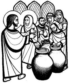 Lectio Divina: Sunday of Ordinary time (C) 100 Year Old Man, Jesus Drawings, Bible Images, Christian Religions, Jesus Resurrection, Water Into Wine, John The Baptist, Bible Crafts, Daily Devotional
