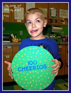 WHERE WAS THIS ALL THE YEARS I NEEDED IT :).....75 ways to celebrate 100th day of school
