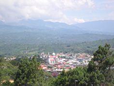San Ramón, una ciudad en la parte occidental del país, en el país de caña de azúcar.