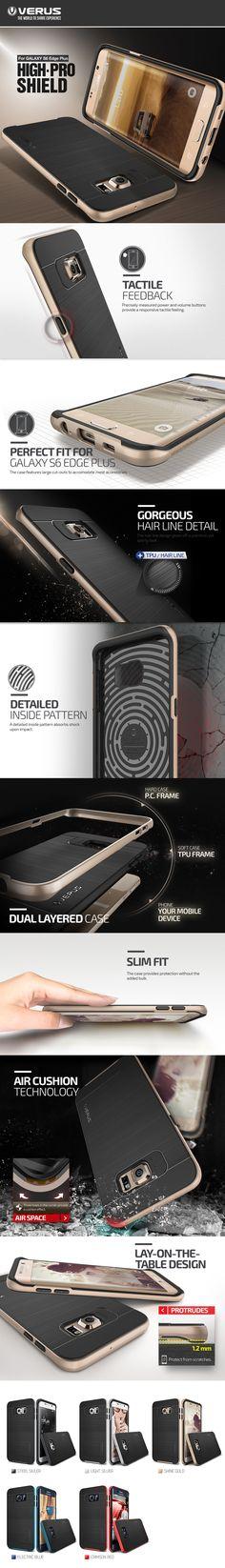 Verus Samsung Galaxy S6 Edge Plus Case High Pro Shield Series - Galaxy S6 Edge Plus - Samsung - Device
