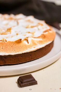 faire une tarte au chocolat meringuée