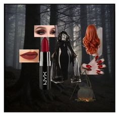 """""""Rowena - Supernatural"""" by beckieinwondrland on Polyvore featuring NYX and Charlotte Tilbury"""