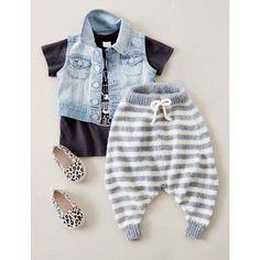 Knitting Patterns for Baby Harum Scarum Pants