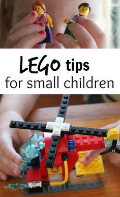LEGO tips for little ones
