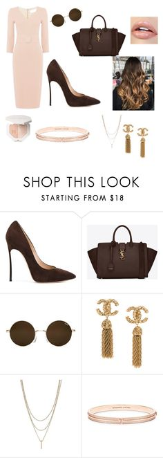 """Untitled #65"" by magda-afifi on Polyvore featuring Casadei and Yves Saint Laurent"