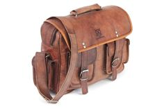 Renaissance Crossbody Leather Bag Leather Messenger by usaleather, $79.00