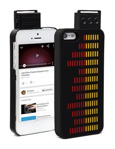 This iPhone equalizer case will demonstrate to the world your appreciation for bumpin' beats while protecting your phone at the same time.