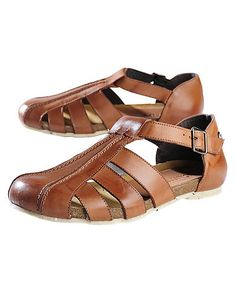 John W. Shoes Sandale Odin, braun 89,90