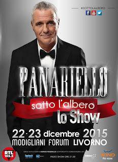 TG Musical e Teatro in Italia: Uniche due date- PANARIELLO SOTTO L'ALBERO - Lo Sh...