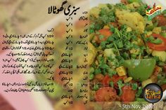 sabzi ghotala Sweet Dishes Recipes, Vegetable Recipes, Vegetarian Recipes, Chicken Recipes, Spicy Sausage Pasta, Masala Tv Recipe, Cooking Recipes In Urdu, Urdu Recipe, Main Course Dishes
