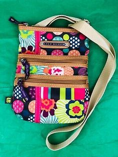 Find many great new & used options and get the best deals for Lily Bloom Multicolor Floral Crossbody Purse at the best online prices at eBay! Free shipping for many products!