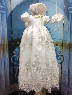 898d82b3952  Valentines  AdoreWe  TBDress -  TBDress Beading Appliques Baby Girls Christening  Gown with