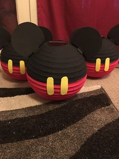 Mickey Mouse Lantern Centerpieces by KNiKoleDesigns on Etsy