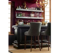 Take a seat: Hayes Tufted Barstool