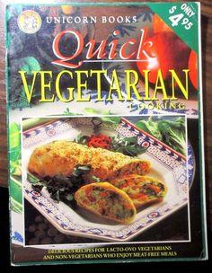 UNICORN BOOKS Quick VEGETARIAN COOKING PB