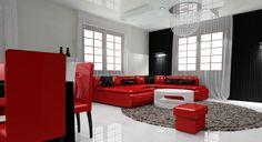 Black, White, Red