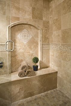 Tile Shower Shampoo Niche Soap Dish And Shampoo Recess Tile Bathroom Pinterest