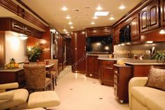 luxury RV home interior | 2011 Newmar Dutch Star 4386 Luxury Motor Home Interior Front to Back