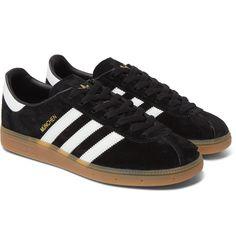 finest selection 283e3 227d7 Adidasskor, Svarta Sneakers, Adidas Originals, Herrmode, Läder, Herrskor