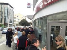 Mass Panic In Cyprus: The Banks Are Collapsing And ATMs Are Running Out Of Money  Friday, March 22, 2013