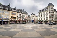 Grand 'Rue, Bouillon, Belgium (we stayed in the hotel on the right)
