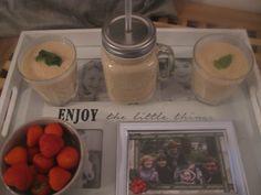Ingredienten Aardbeien Ananas alpro soya munt