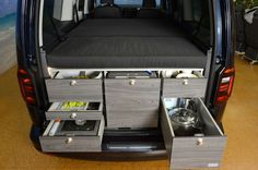 vw caddy maxi mit VanEssa campingausbau