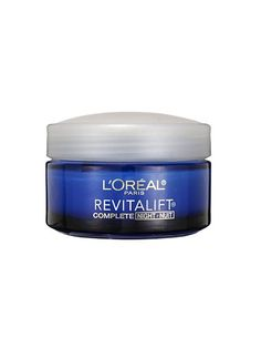 Yes, retinyl palmitate, the anti-ager in this thick night cream, is a weaker form of retinol. But don't be so quick to judge: The ingredient is less likely to stress out your skin, so you can slather it on every night without the fear of waking up to flakes and splotches.