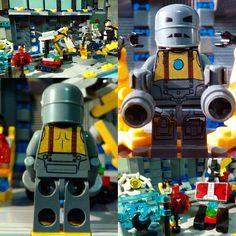 Lego Iron Man, Marvel And Dc Superheroes, The Originals