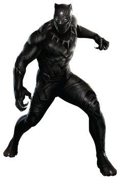 Black Panther render by Hyb1rd-1982.deviantart.com on @DeviantArt