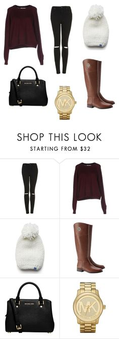 """Untitled #98"" by sadiecoda on Polyvore featuring Topshop, T By Alexander Wang, Keds, Tory Burch, MICHAEL Michael Kors and Michael Kors"