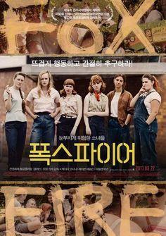 Foxfire Movie Poster 2012 Katie Coseni, Raven Adamson, Madeleine Bisson