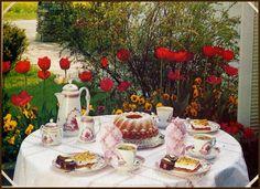 Kaffee und Kuchen (coffee and cake) time!