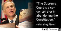 Gov. Abbott calls for Convention of States.