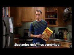 The Big Bang Theory - Sarcasm Sign Warning: swearing