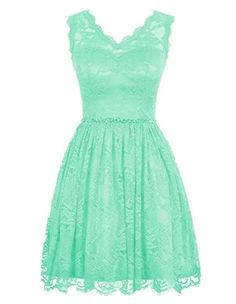 Haolicheng Women's Lace V-neck Short Prom Dress Bridesmaid Dresses Mint Green US 2 Haolingcheng http://www.amazon.com/dp/B01AXFSYFY/ref=cm_sw_r_pi_dp_4zV-wb1YY8J4S