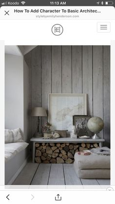 Wood Walls The Oyster Catcher, Luxury Cornish self-catering holiday home Mousehole,Lu xury … Living Room Modern, Living Room Decor, Living Rooms, Ship Lap Walls, Home And Deco, Family Room, Wood Walls, Wood Wall Paneling, Interior Wood Paneling