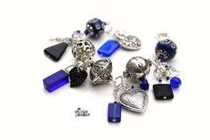 Flamenco Bleu  Bracelet par lamechantesorciere sur Etsy, $47.95