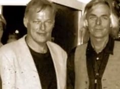 Handsome Men!! David Gilmour and Richard Wright <3