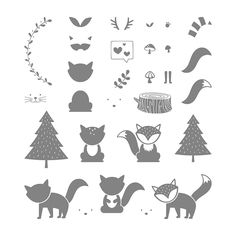 Foxy Friends Photopolymer Stamp Set by Stampin' Up!